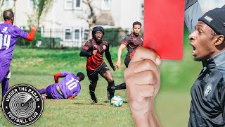 RED CARD FOOTBALL😲🤬THE GAME GETS OUT OF HAND?!?! UNDER THE RADAR FC 📡⚽