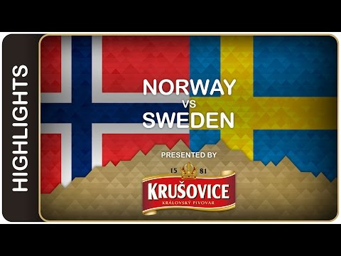 Sweden outlasts gritty Norway | Norway-Sweden HL | #IIHFWorlds 2016