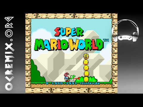 OC ReMix #3294: Super Mario World 'Big Boo Badman' [Sub Castle BGM] by meganeko