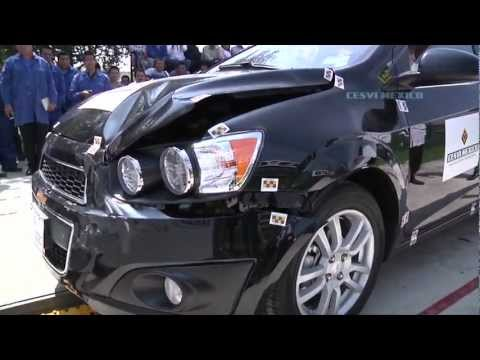 Low-Speed Crash Test Chevrolet Sonic