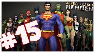 Justice League Heroes (PS2) Part 15 FACE Hand Monsters! co-op