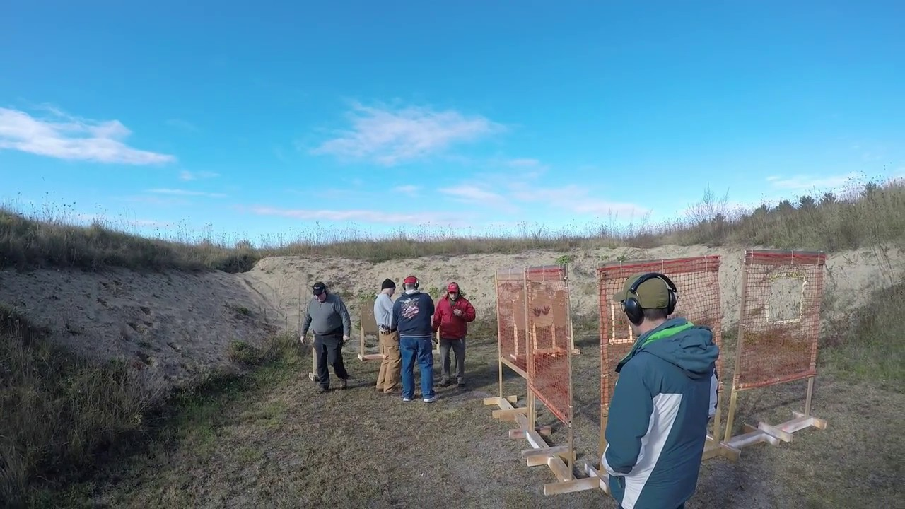 Idpa Stage At Scarborough Fish And Game Youtube