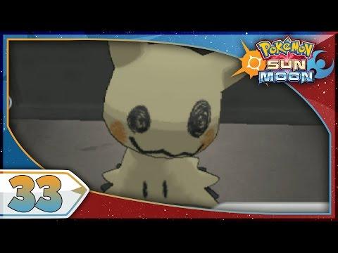 Pokémon Sun And Moon - Part 33 | Acerola's Island Trial! [NEW Nintendo 3DS 100% Walkthrough]