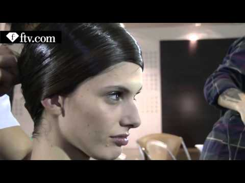 Yiqing Yin Backstage Part 1 Paris Couture Fashion Week FashionTV