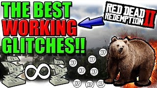 Lets try to get 50 likes!! - in this video you will see money glitches + more!! the *best* working red dead redemption 2 glitches!!(red online)! there a...