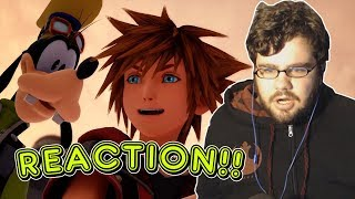KINGDOM HEARTS III CLASSIC KINGDOM Trailer Reaction!!