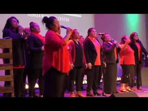 Samoan worship center performing  at KMGC music  annual concert