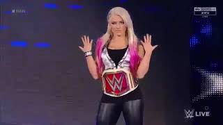 The Goddess Of RAW Alexa Bliss Confronts Mickie James
