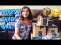 Amazon India Food / Snack Haul II // #MagaliVlogs
