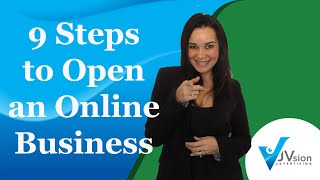 9 steps online business