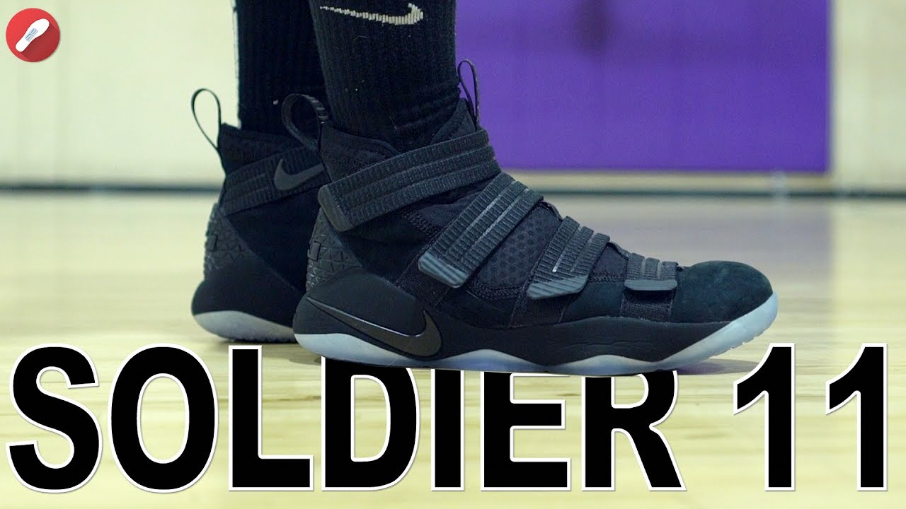 d8aaa524200f Nike Lebron Soldier 11 Performance Review! - YouTube
