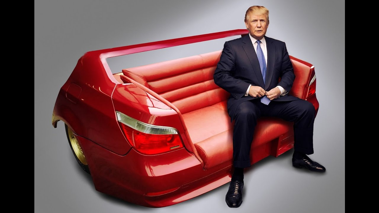 Donald Trump On Bmw Sofa Tel 48 888 877 866 Youtube