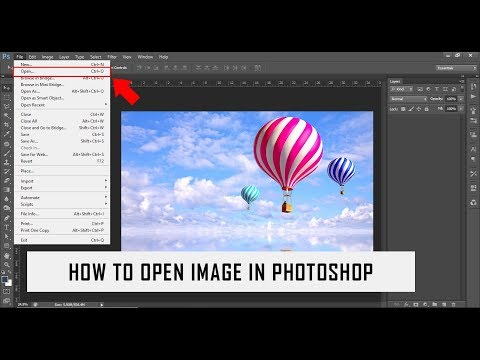 How To Open Image In Photoshop
