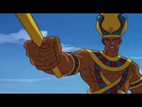 Legends of the Hidden Temple Crossovers - Egyptian King (Mummies Alive)