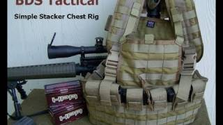 BDS Tactical Simple Stacker Chest Rig