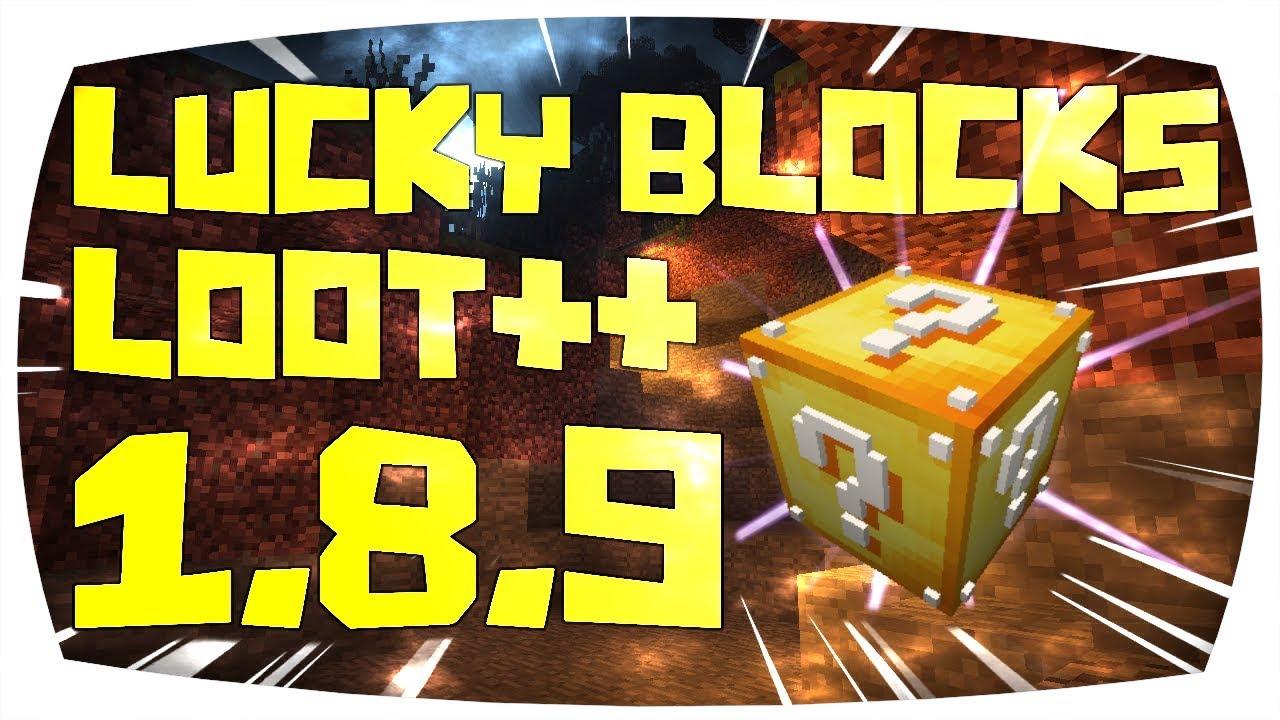 Minecraft Lucky Blocks Mod downloaden installieren