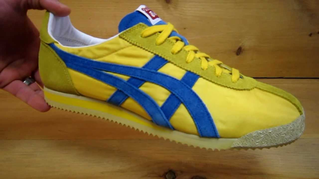 designer fashion 4c04d 940bb Onitsuka Tiger Corsair Vin Nylon Yellow