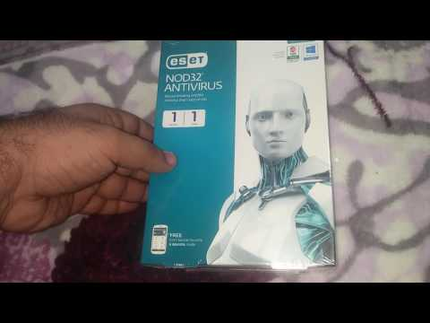 About ESET NOD 32 Antivirus for single user one year -- HINDI