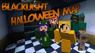 Blacklight Halloween Map | SPOOKY STUFF.