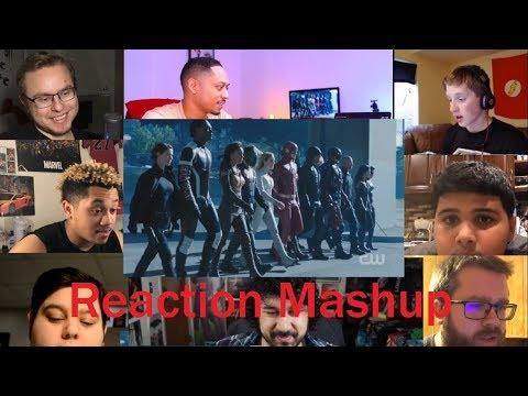 DCTV Crisis On Earth X Full Trailer REACTION MASHUP