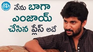 Nani's Amazing Experience In Kerela || Talking Movies with iDream