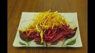 Самый дешевый и самый вкусный салат за 5 минут (Домашний кулинар)