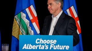 RAW: Jim Prentice resigns. Election night speech