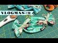 VLOGMAS #9 | Making Fabric Bon Bons