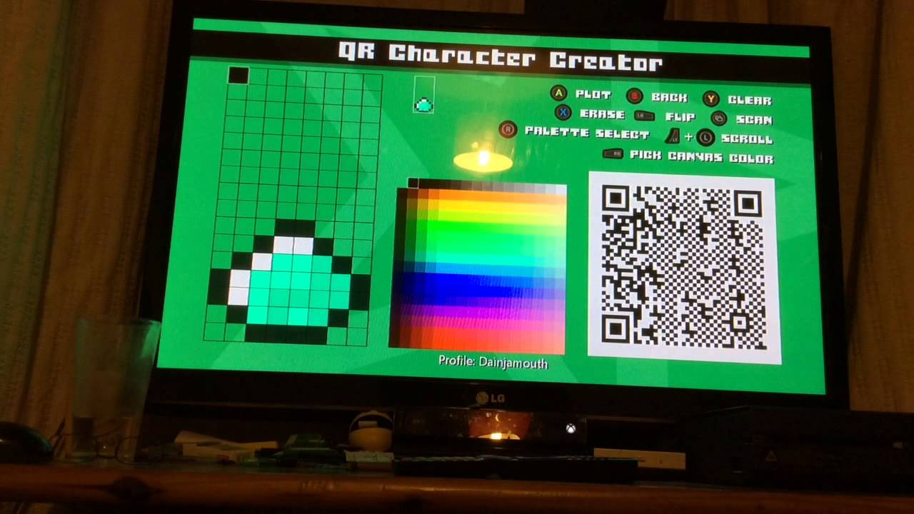 idarb minecraft characters logo and theme song qr