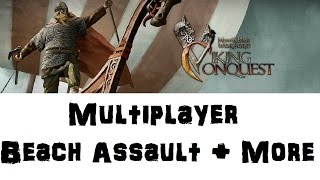Mount & Blade Viking Conquest Multiplayer Gameplay Port Assault and More!
