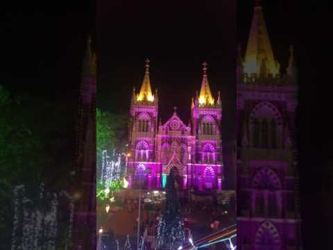 Christmas decorations of Mount Mary Church at Bandra West in Mumbai(1)
