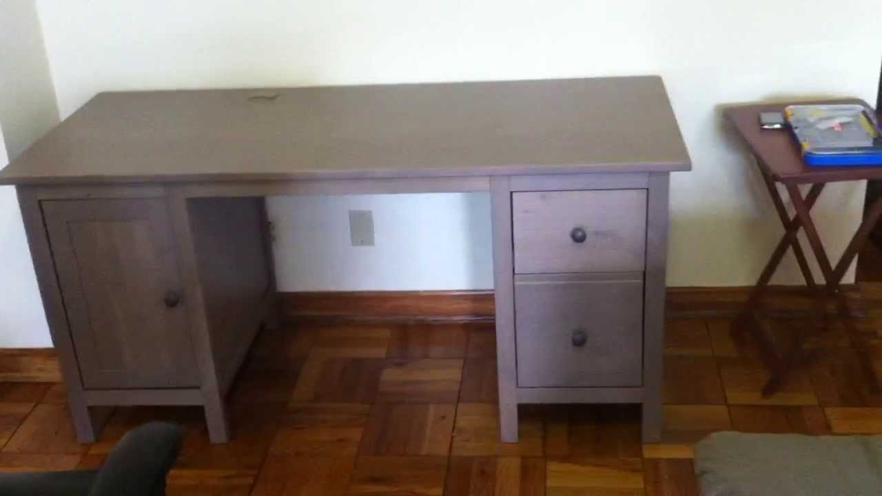 Exceptionnel Ikea Hemnes Desk Assembly Service Video In DC MD VA By Furniture Assembly  Experts LLC   YouTube