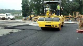 Intelligent Compaction (GDOT Demo) Part 2 of 4: HMA IC Demo
