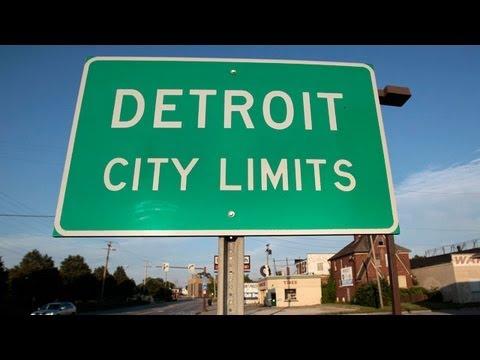 Detroit goes bankrupt