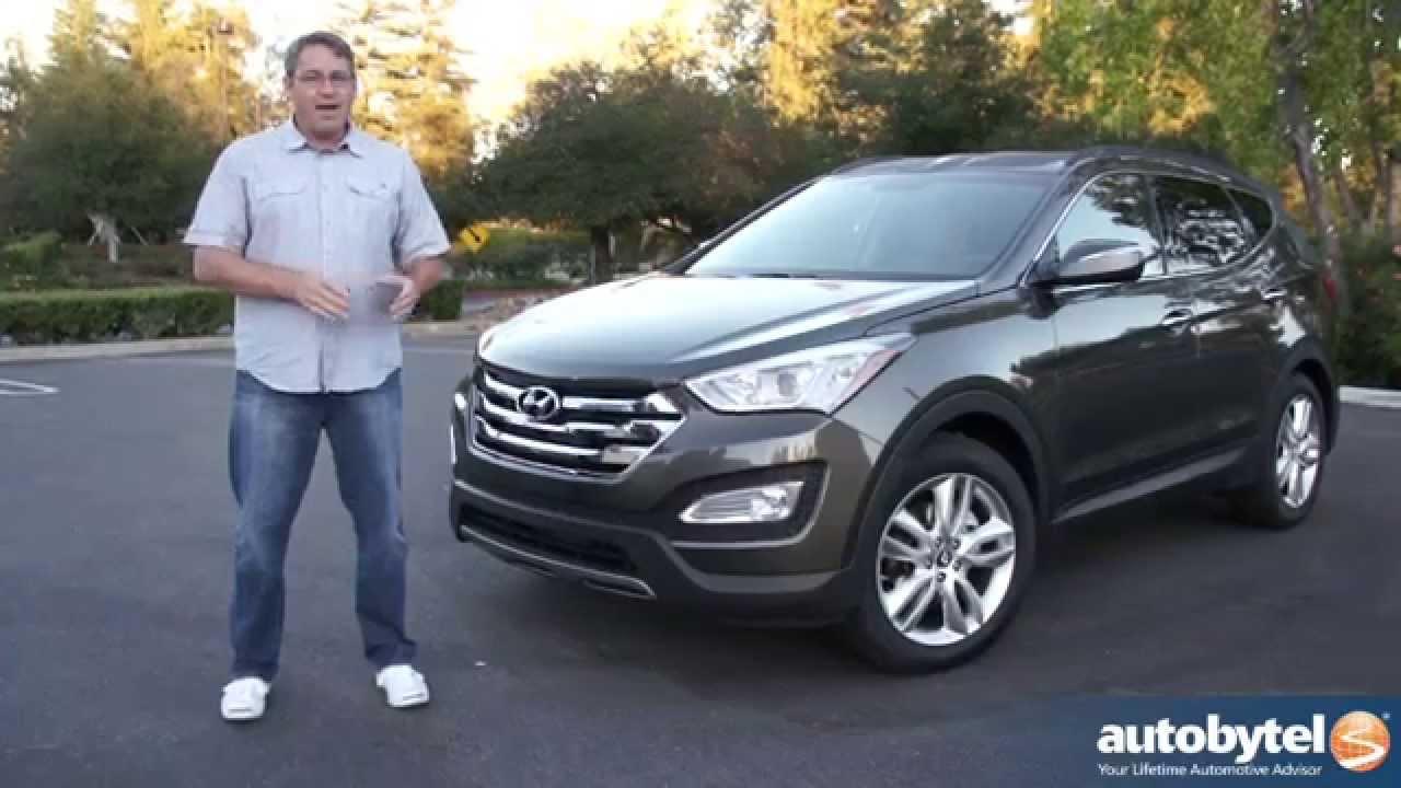 2014 Hyundai Santa Fe Sport 2.0L Turbo Test Drive Video Review   YouTube