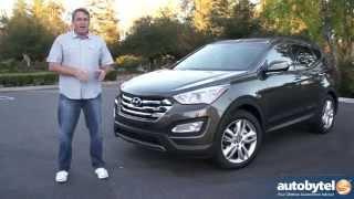 2014 Hyundai Santa Fe Sport 2.0L Turbo Test Drive Video Review