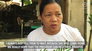 Jennifer Dalquez's mother appeals to President Rodrigo Duterte