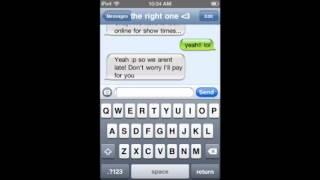 Texting my crush! 2