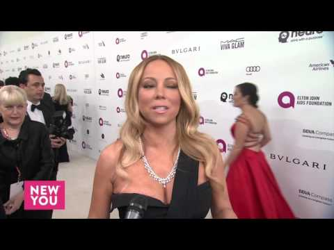 Mariah Carey at the Elton John Aids Foundation Academy Awards Viewing Party