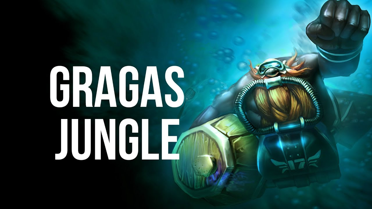league of legends scuba gragas jungle full game