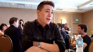 Interview With Colton Haynes of Arrow at Comic-Con 2014 Thumbnail