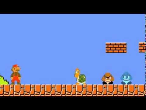 Mario vs Tortoise ( Funny )