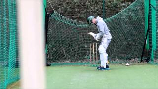 Cricket nets spin practice
