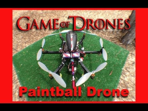 Game of Drones - video show about drone fighting