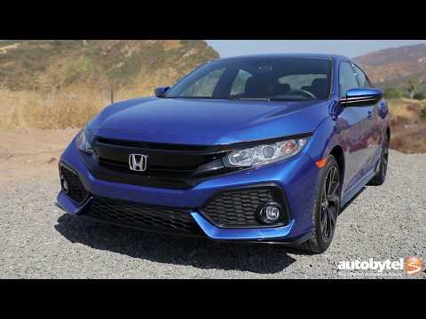 2017 Honda Civic Hatchback Sport Test Drive Video Review