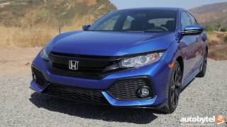 2017 Honda Civic Hatchback Sport Test Drive Video Review