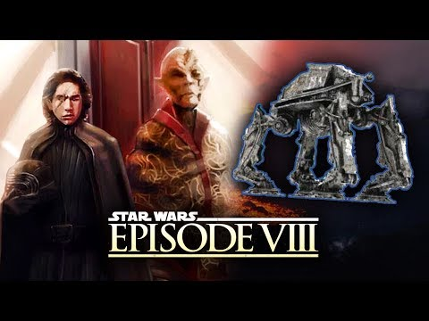 Download Youtube: Star Wars Episode 8 The Last Jedi News - Snoke's New Look Leaked! Two New ATAT Walker Designs!