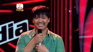 The Voice Cambodia - ឡាច សៀរ - She Will Be Love - 3 Aug 2014