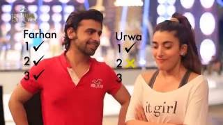 Urwa Hocane Battles it Out With Farhan Saeed