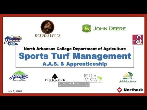North Arkansas College Turf Management Program Webinar